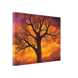 Si j'étais un arbre - copie enveloppée de toile impressions sur toile
