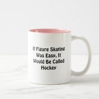 Si le patinage artistique était… Hockey appelé Tasse 2 Couleurs