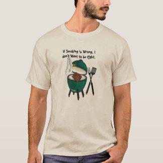 Si le tabagisme est erroné, je ne veux pas avoir t-shirt