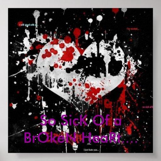 Si malade d'un coeur brisé…. posters