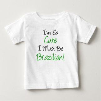 Si mignon doit être brésilien t-shirt pour bébé
