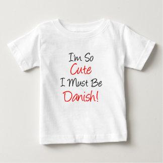 Si mignon doit être danois t-shirt pour bébé