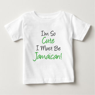 Si mignon doit être jamaïcain t-shirt pour bébé