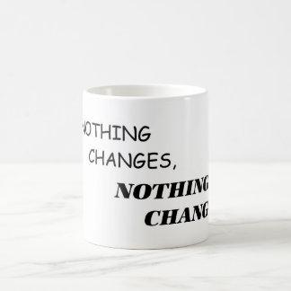 Si rien ne change, rien ne change la tasse