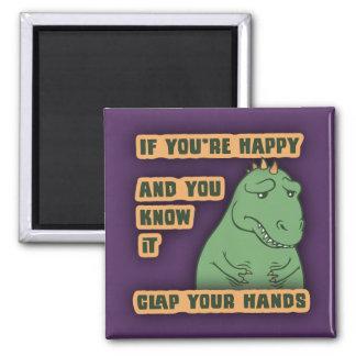 Si vos bras atteignent magnet carré