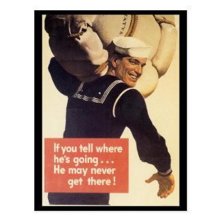 Si vous dites la guerre mondiale 2 carte postale