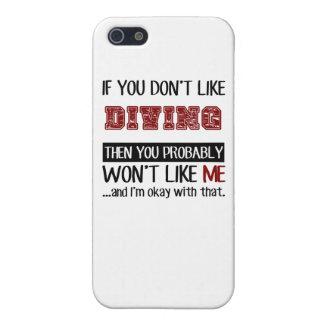 Si vous n'aimez pas le cool de plongée étui iPhone 5
