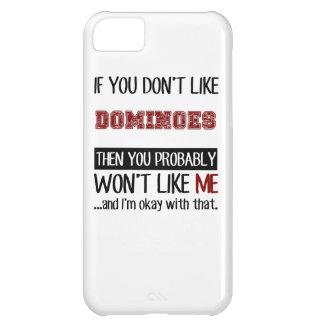 Si vous n'aimez pas les dominos se refroidissent coque iPhone 5C