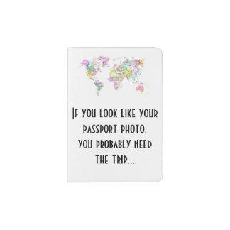 Si vous ressemblez à votre photo de passeport. protège-passeports