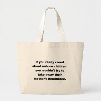 Si vous vous inquiétiez vraiment des enfants à grand sac