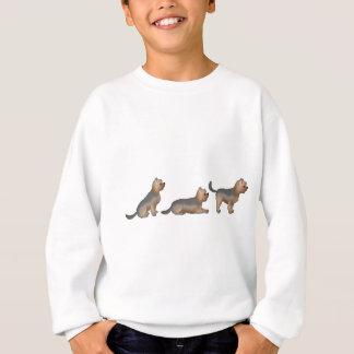 Siège place être terriers yorkshire sweatshirt