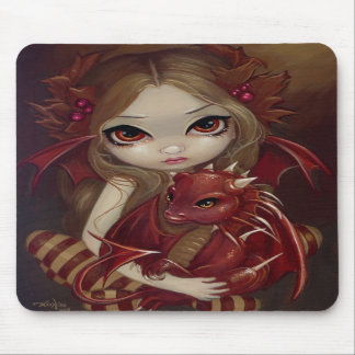 """""""Sienna Dragonling"""" Mousepad Tapis De Souris"""