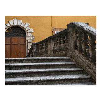 Sienna, Toscane, Italie - vue d'angle faible de Carte Postale