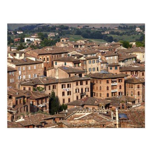 Sienne rentrée par photographie, Italie. On peut v Carte Postale