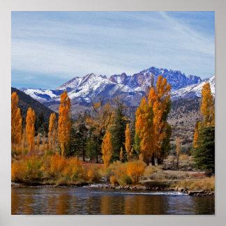 Sierra automne poster