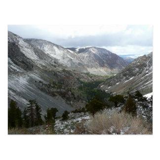 Sierra carte postale de Milou de Nevadas
