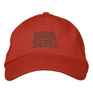 Sierra casquette de bravo de pilote casquette brodée