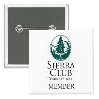 Sierra club, MEMBRE, MEMBRE Badges Avec Agrafe