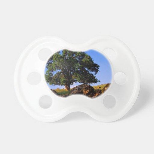 Sierra collines d'arbres de Nevada Tétine Pour Bébé