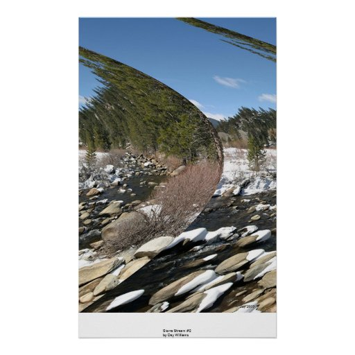 Sierra courant #2 poster