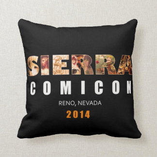 Sierra coussin d'autographe de Comicon