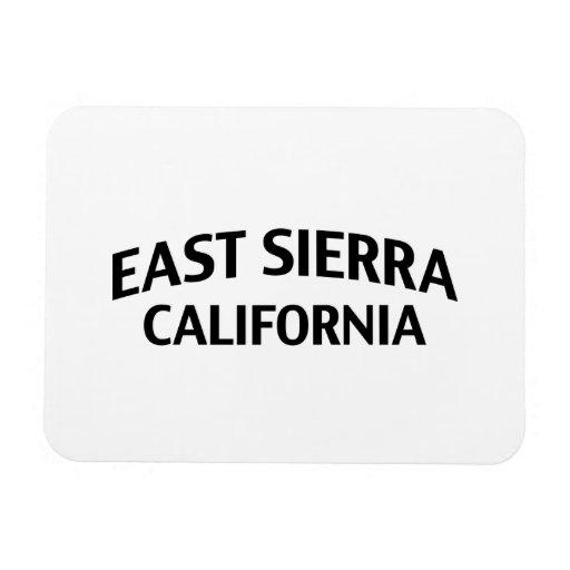 Sierra est la Californie Magnets Rectangulaire