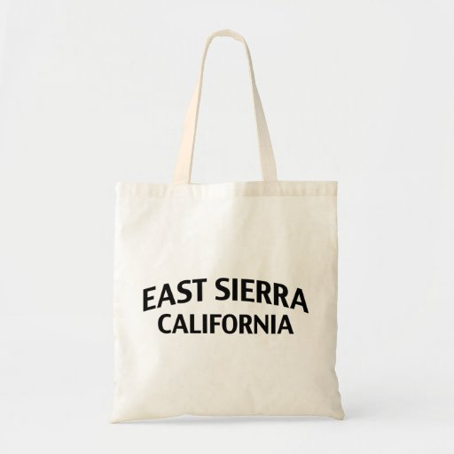 Sierra est la Californie Sacs De Toile
