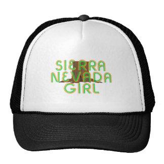 Sierra fille de PIÈCE EN T de Nevada Casquettes