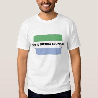 SIERRA-LÉONAIS DE 100 % T-SHIRTS