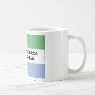 SIERRA-LÉONAIS DE 100 TASSES À CAFÉ