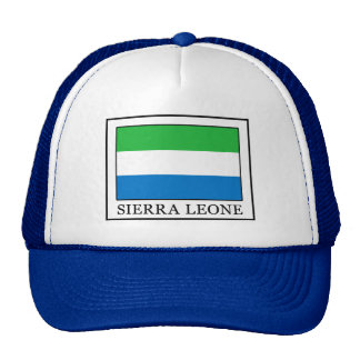 Sierra Leone Casquette Trucker