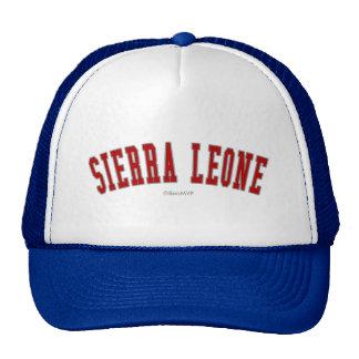 Sierra Leone Casquettes De Camionneur