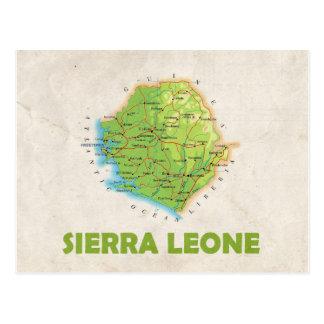 Sierra Leone de ♥ de CARTES POSTALES de CARTE