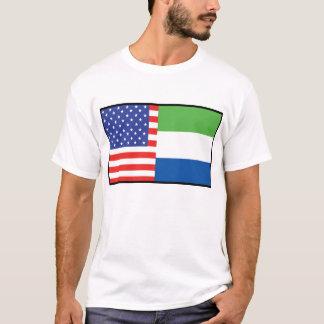 Sierra Leone des Etats-Unis T-shirt