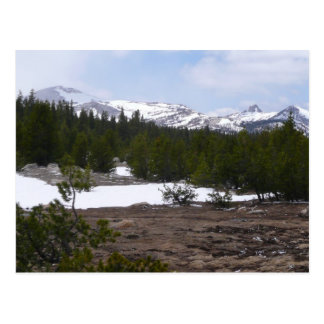 Sierra montagnes de Nevada et parc de Yosemite de Carte Postale