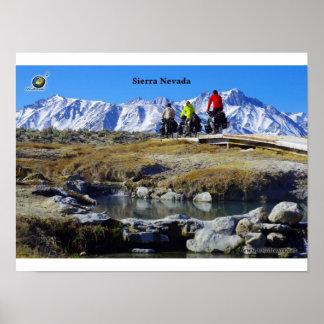 Sierra Mountains, Californie Poster
