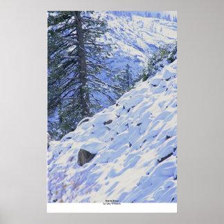 Sierra neige, route 88 posters