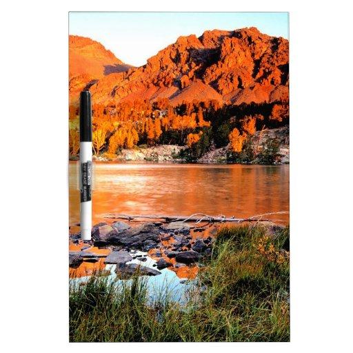 Sierra Nevada de la Virginie de lac Tableaux Effaçables Blancs