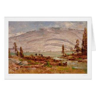 Sierra paysage de Nevada (0709A) Carte De Vœux