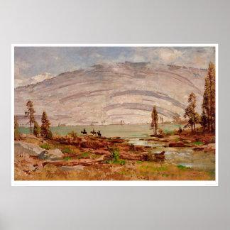 Sierra paysage de Nevada (0709A) Posters