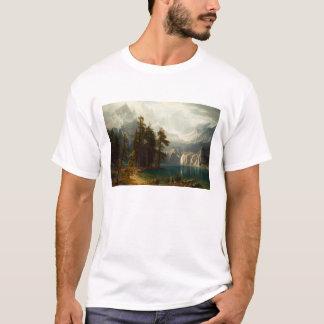 Sierra T-shirt de Bierstadt de Nevadas