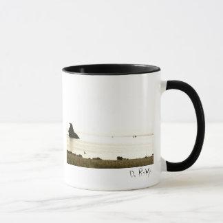 Sierra tranquille tasse de café de lac morning