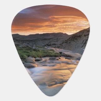 Sierra vague au-dessus de Yosemite Onglet De Guitare
