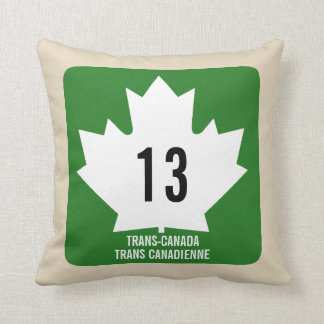 Signal du Transport-Canada Coussin