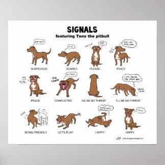 Signaux de TANO Posters
