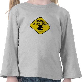 Signe australien drôle. Prenez garde des ours de T-shirt