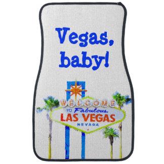 Signe bienvenu de Las Vegas Tapis De Sol