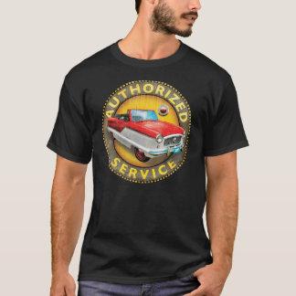 Signe convertible métropolitain vintage de service t-shirt