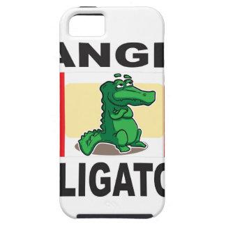 signe d'alligator de danger coque Case-Mate iPhone 5