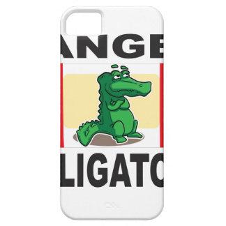 signe d'alligator de danger iPhone 5 case